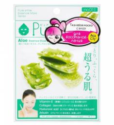 Маска для лица восстанавливающая с экстрактом алоэ Sunsmile Aloe Essence Mask 23мл