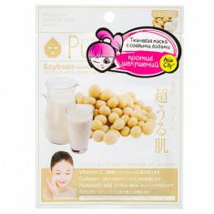Маска для лица с экстрактом соевых бобов Sunsmile Face mask with soya bean ext 23мл