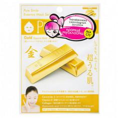 Маска для лица с коллоидным золотом Sunsmile Colloidal gold face mask 23мл