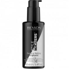 Revlon STYLE MASTERS DORN BRIGHTASTIC Моделирующий праймер и дисциплинирующая сыворотка для блеска волос 100мл