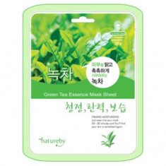 Natureby, Маска для лица Green Tea Essence, 23 г