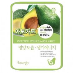 Natureby, Маска для лица Avocado Essence, 23 г