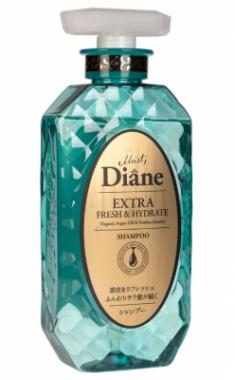 Шампунь кератиновый свежесть Moist Diane Perfect beauty 450мл