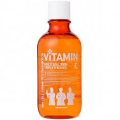витаминизирующий тонер с активным мульти витаминным комплексом swanicoco multi solution vitamin toner