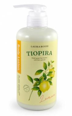 Лосьон-молочко для тела ароматерапия Лимон Laura Rosse Body lotion lemon 500мл