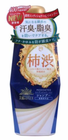 Шампунь-кондиционер для волос с экстрактом хурмы MAX Taiyounosachi ex shampoo 400мл