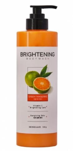 Гель для душа Заряд энергии KeraSys Shower brightening green tangerine 500мл