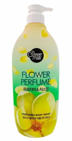 Гель для душа парфюмированный Жасмин KeraSys Shower mate flower perfume 900мл
