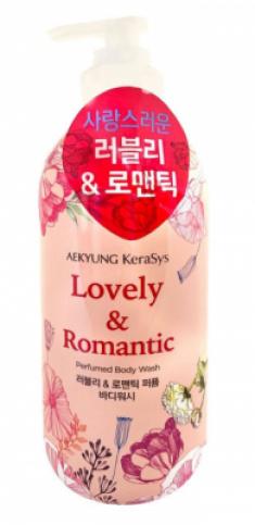 Гель для душа парфюмерная линия Романтик KeraSys Lovely & romantic perfumed 500мл