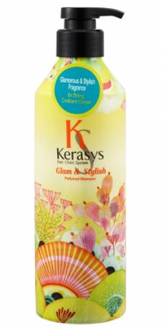 Шампунь парфюмированный Гламур KeraSys Glamor&stylish parfumed 600мл