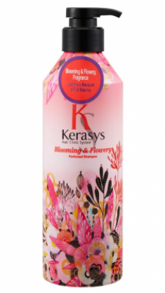 Шампунь парфюмированный Флер KeraSys Blooming&flowery parfumed 600мл