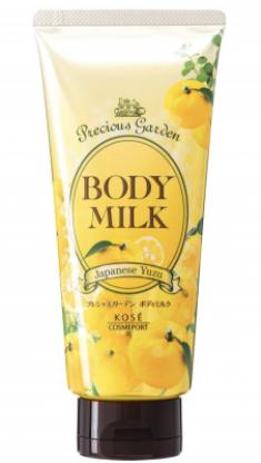 Молочко для тела с ароматом юдзу Kose Precious garden body milk japanese yuzu 200г