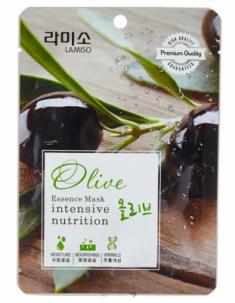 Маска с экстрактом оливы La Miso Essence mask premium quality olive 23г