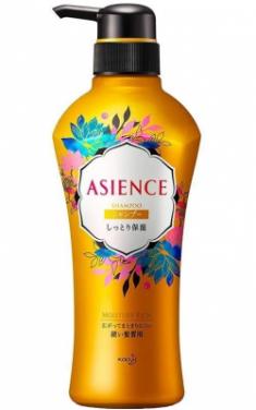 Шампунь для волос увлажняющий KAO Asience moisturizing type shampoo 450мл