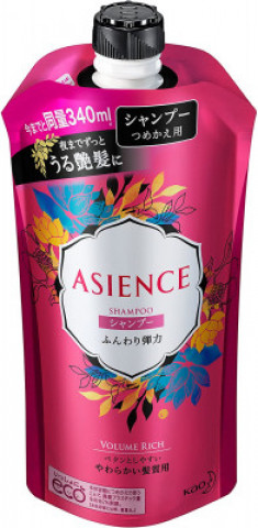 Шампунь для упругости волос KAO Asience soft elasticity type shampoo 340мл