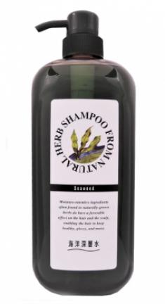 Шампунь с экстрактом бурых водорослей JunLove Natural herb shampoo 1000мл