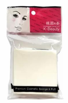 Спонж косметический квадрат 8 сегментов K-Beauty Premium Cosmetic Sponge NR-9