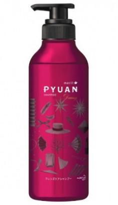 Шампунь для волос с ароматом розы и граната KAO Merit pyuan daring 425мл