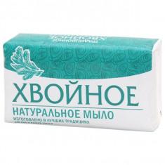 Мыло туалетное Хвойное в бумажной упаковке 160г