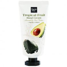 FarmStay Крем для рук Тропические фрукты с авокадо и маслом ши 50мл Farm Stay