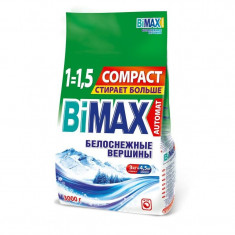 Бимакс/Bimax Порошок стиральный Автомат Белоснежне вершины COMPACT 3000г м/у