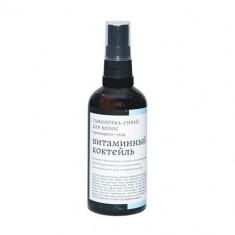Краснополянская косметика Сыворотка-термозащита для волос Витаминный коктейль 100мл