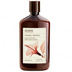 Ахава (Ahava) Mineral Botanic Бархатистое жидкое крем-мыло гибискус и инжир 500мл AHAVA косметика
