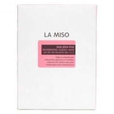маска ампульная обновляющая с кислотами la miso regenerating essence mask