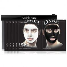 Double Dare OMG! Man in Black двухкомпонентный комплекс мужских масок ДЕТОКС 5шт