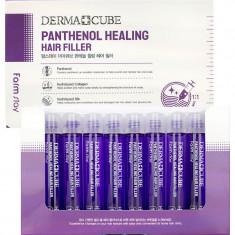 FarmStay Питательный филлер для волос с пантенолом 10 ампул по 13мл Farm Stay