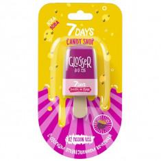 7Days Candy Shop Блеск для губ Страстный поцелуй тон 02 6мл
