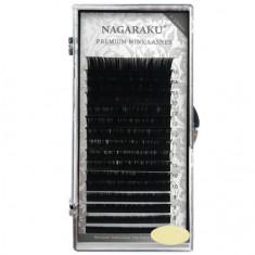 NAGARAKU, Ресницы на ленте Premium Mink, 0,10 мм, B-изгиб